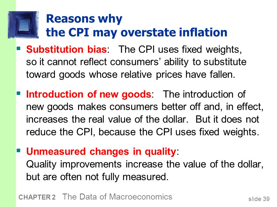 The size of the CPI's bias