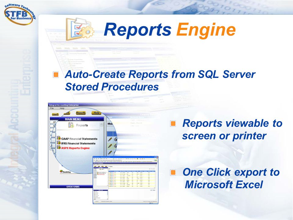 Reports Engine Auto-Create Reports from SQL Server Stored Procedures