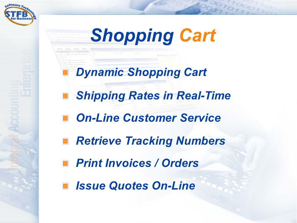 Shopping Cart Dynamic Shopping Cart Shipping Rates in Real-Time
