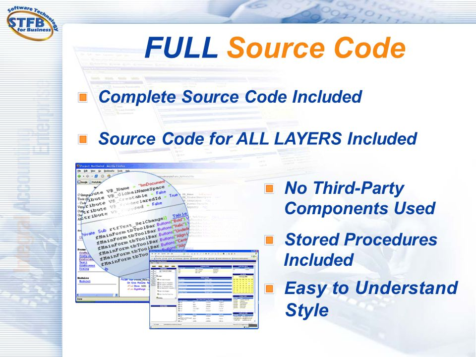 FULL Source Code Complete Source Code Included