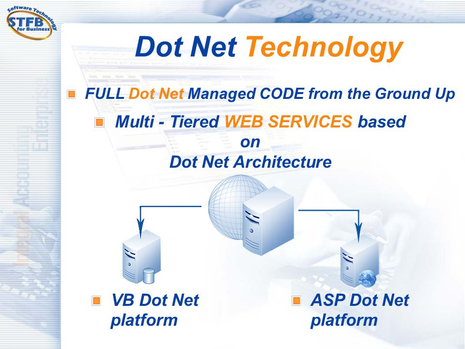 Multi - Tiered WEB SERVICES based on Dot Net Architecture