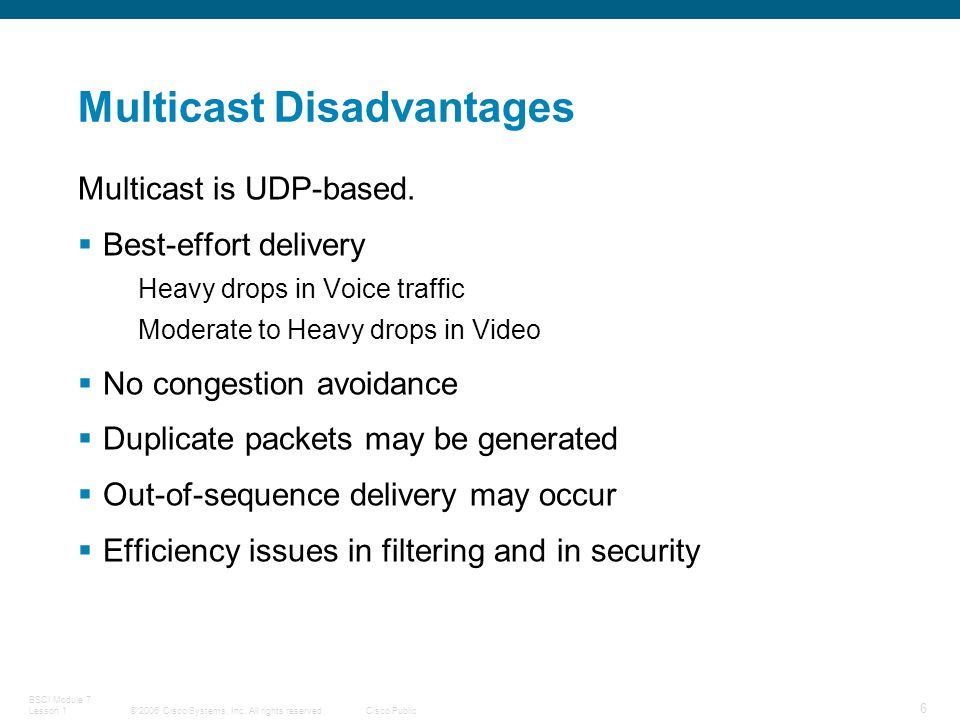 IP Multicasting: Explaining Multicast - ppt download