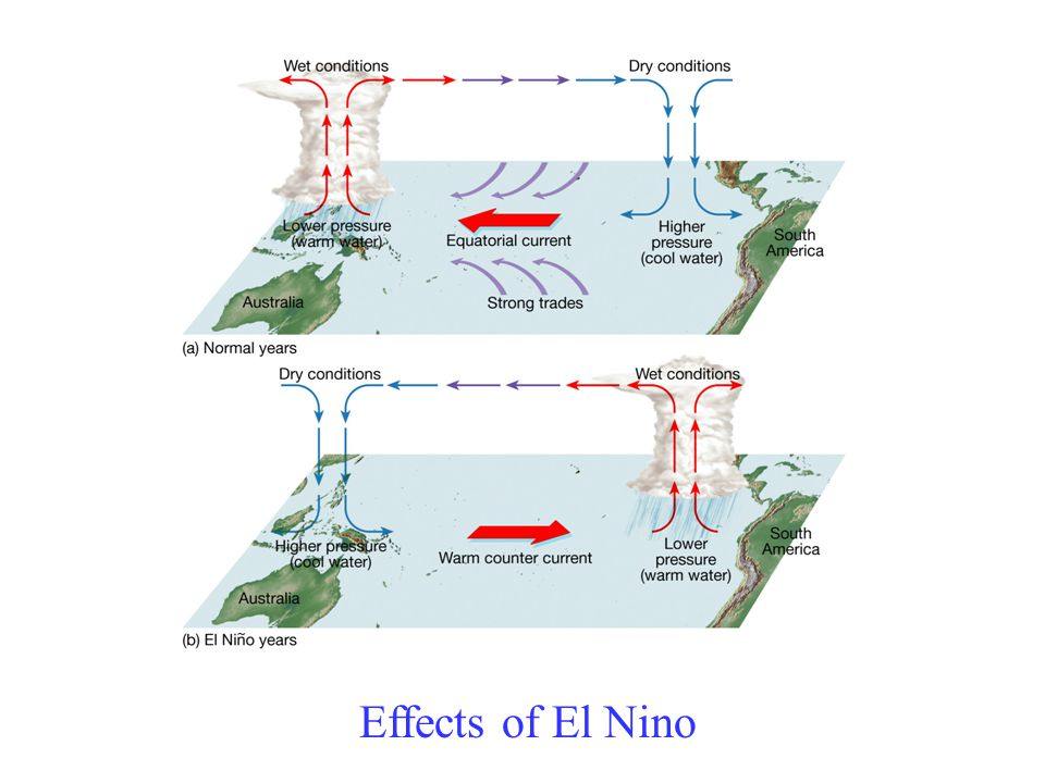 Effects of El Nino