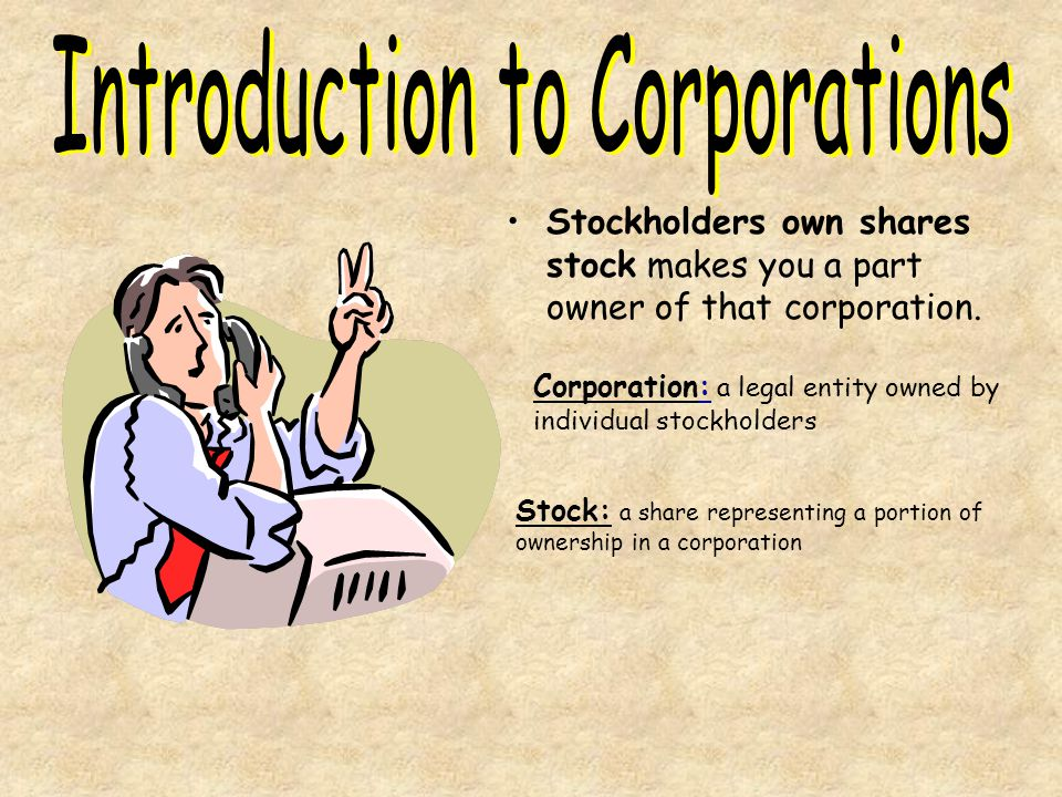 Introduction to Corporations