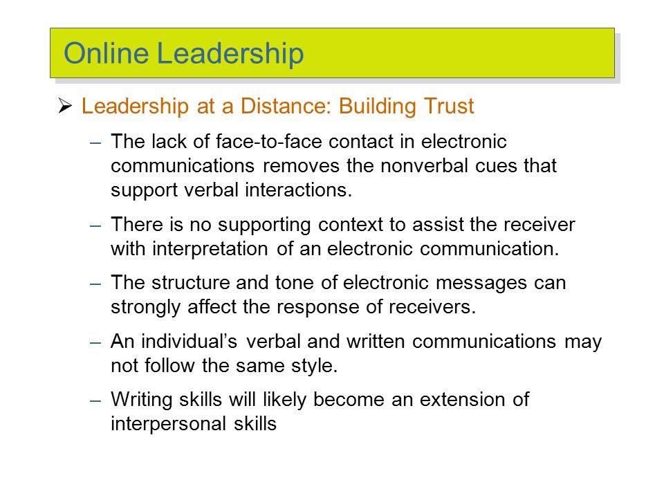 Challenges to the Leadership Construct