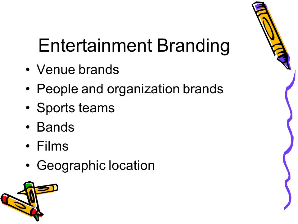 Entertainment Branding