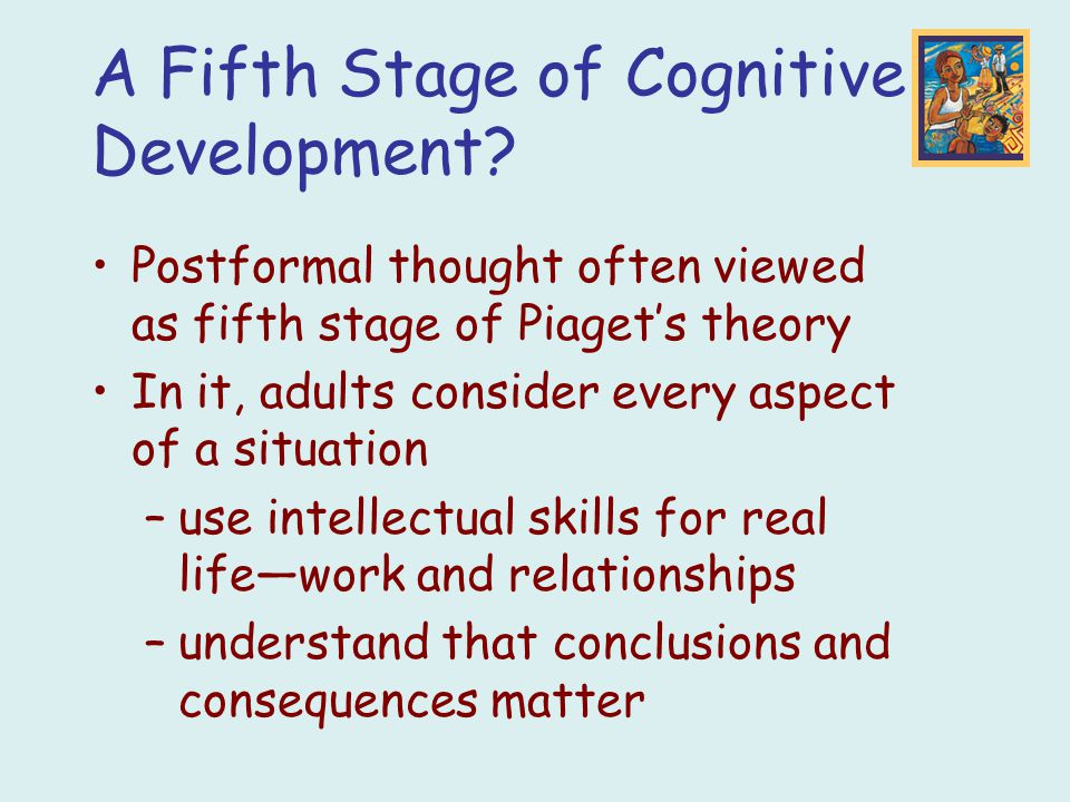 Cognitive development stages adults