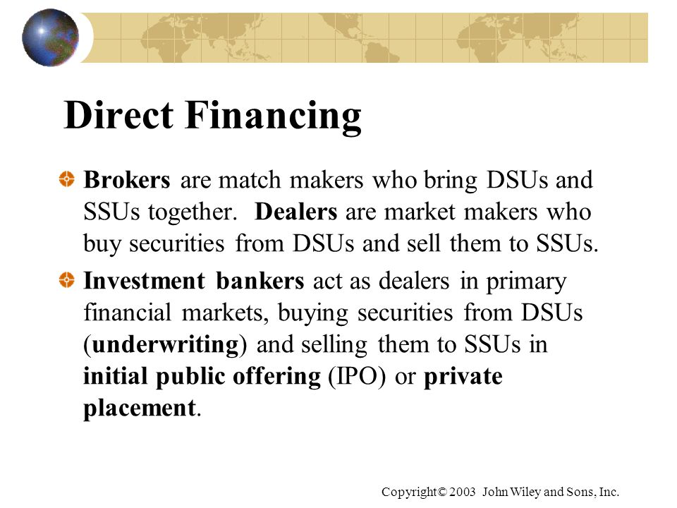 Direct Financing