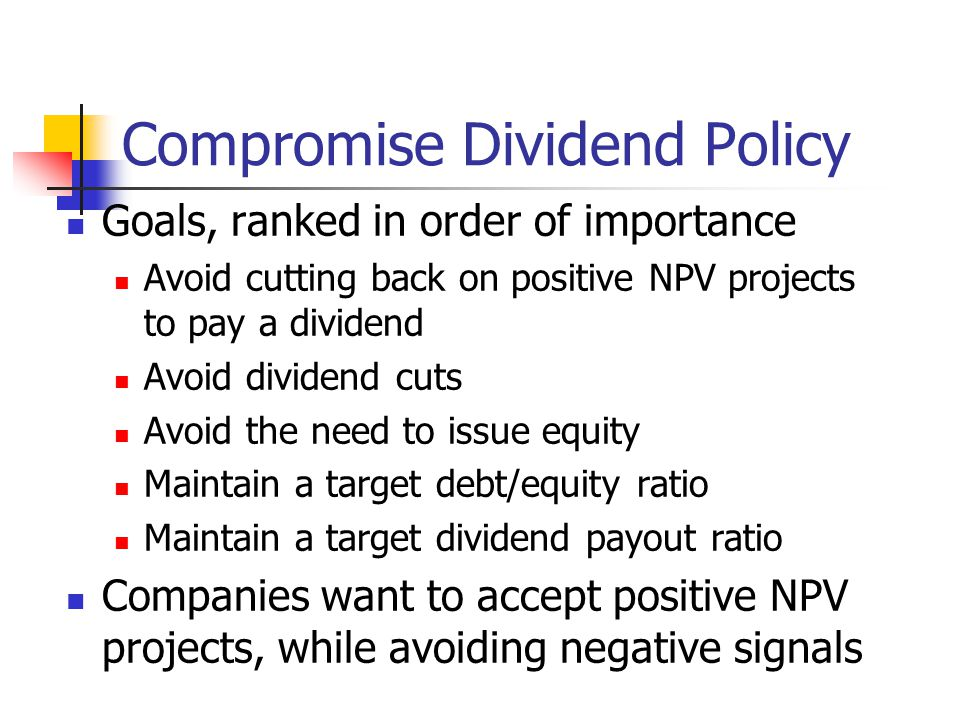 importance of dividend policy