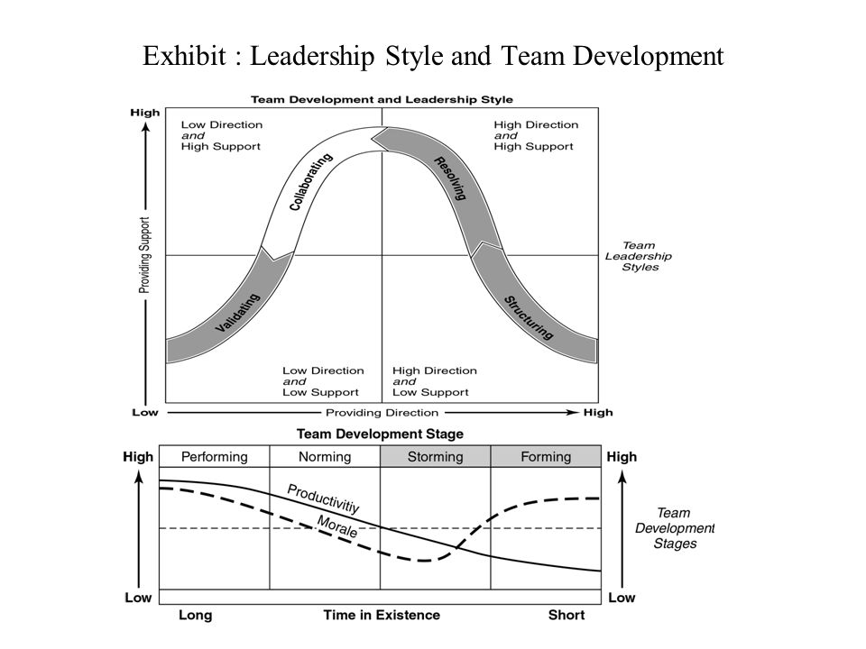Exhibit : Leadership Style and Team Development