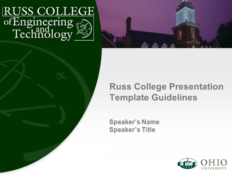 Russ college presentation template guidelines ppt download russ college presentation template guidelines toneelgroepblik Choice Image