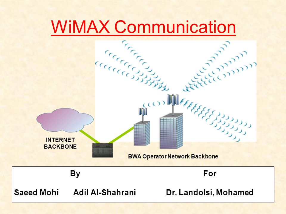 wimax speed