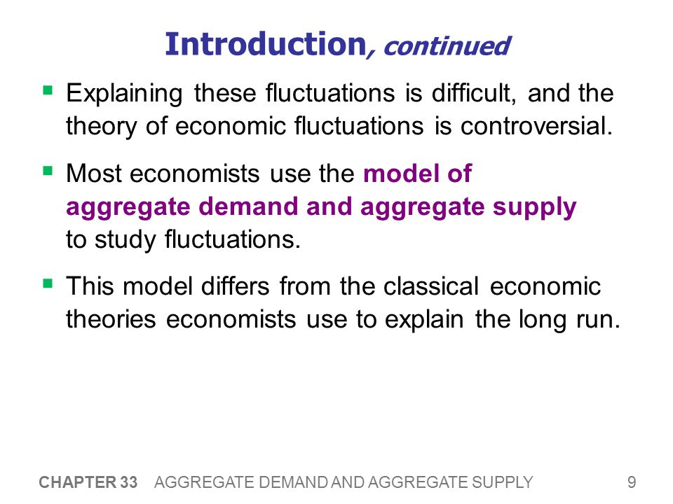 Classical Economics The previous chapters are based on the ideas of classical economics, especially: