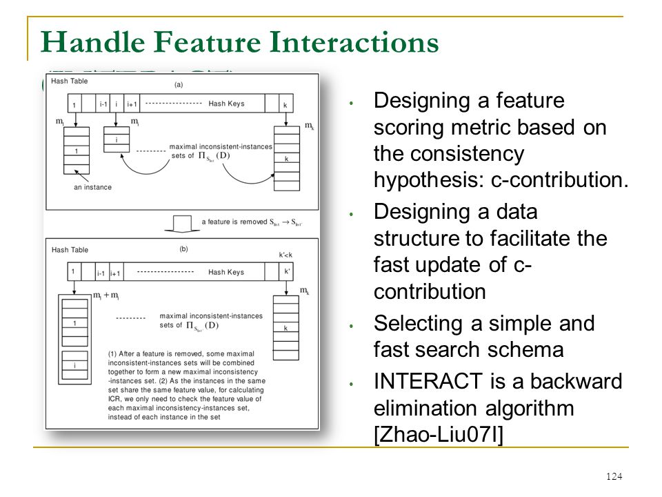 Handle Feature Interactions (INTERACT)