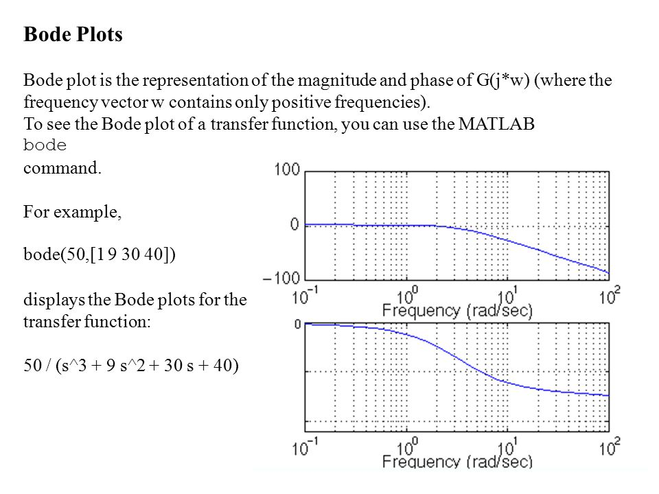 Frequency Response Methods and Stability - ppt download