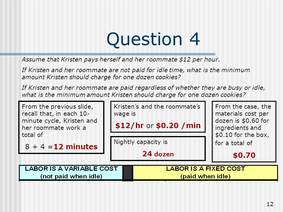 12 question