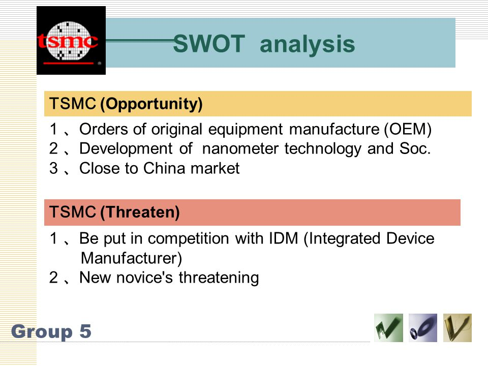 Taiwan Semiconductor Manufacturing Company - ppt video
