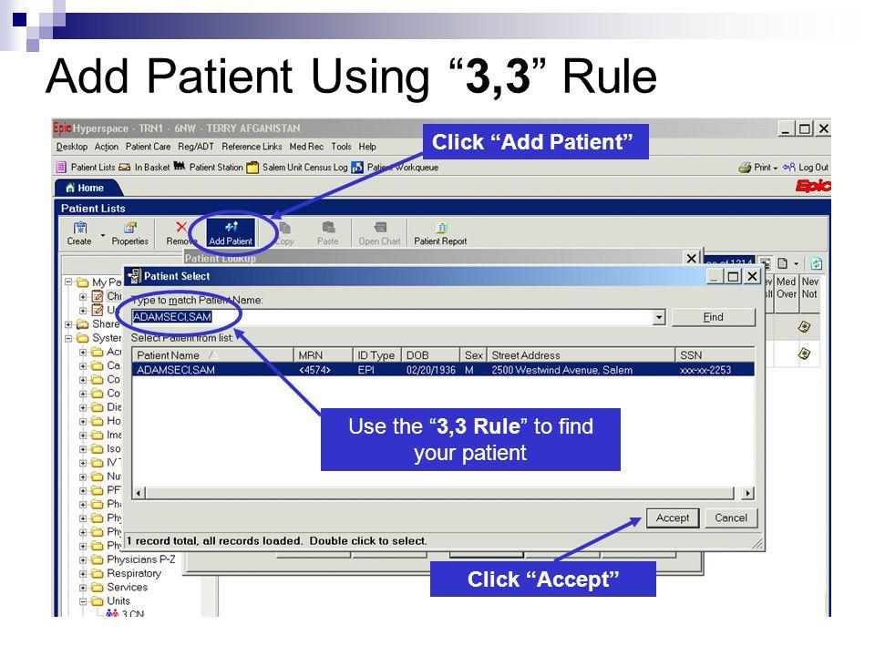 Introduction to the EPIC EMR System at Salem Hospital - ppt