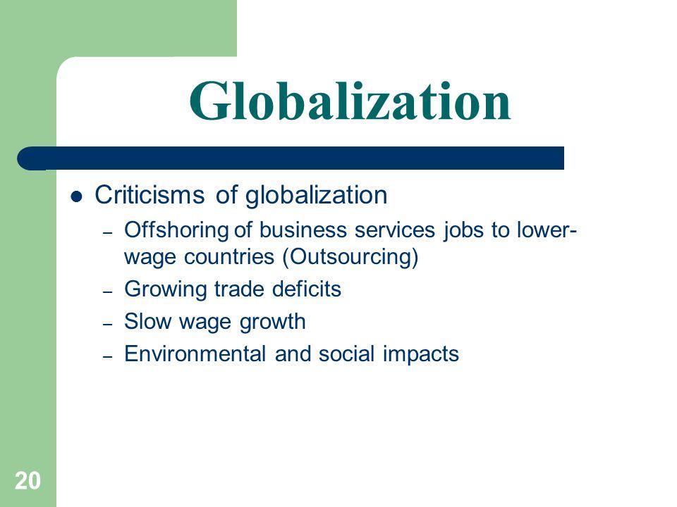 Globalization & the Multinatio...