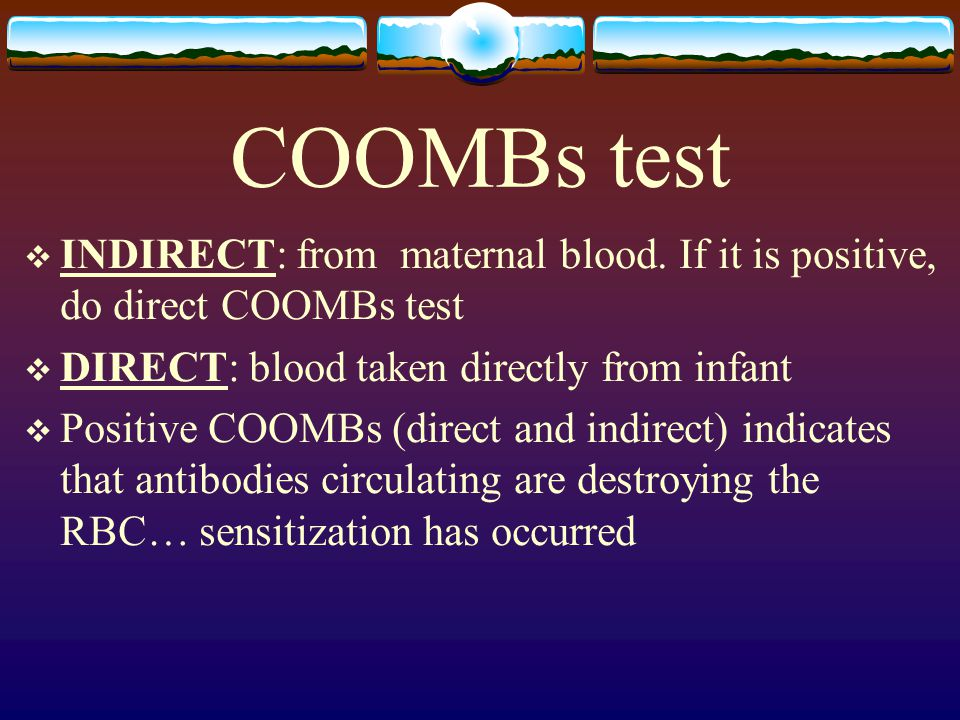 indirect coombs positive