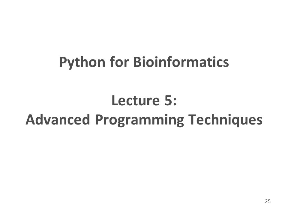 Python for Bioinformatics Lecture 4: Dictionaries - ppt download