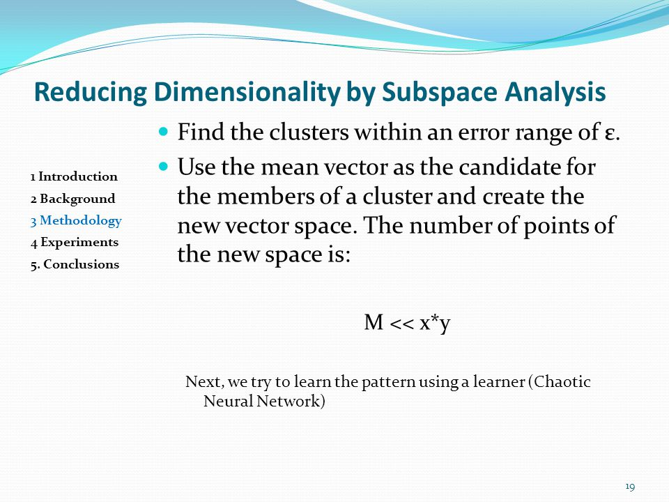 Presented by kushan ahmadian ppt video online download reducing dimensionality by subspace analysis publicscrutiny Image collections