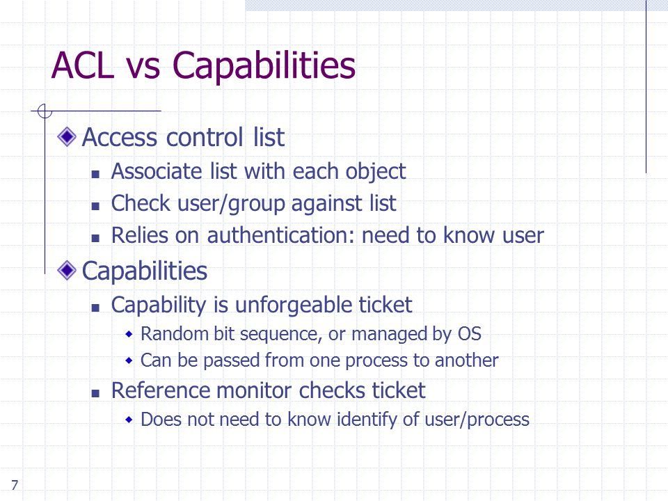 Access Control and Operating System Security - ppt video