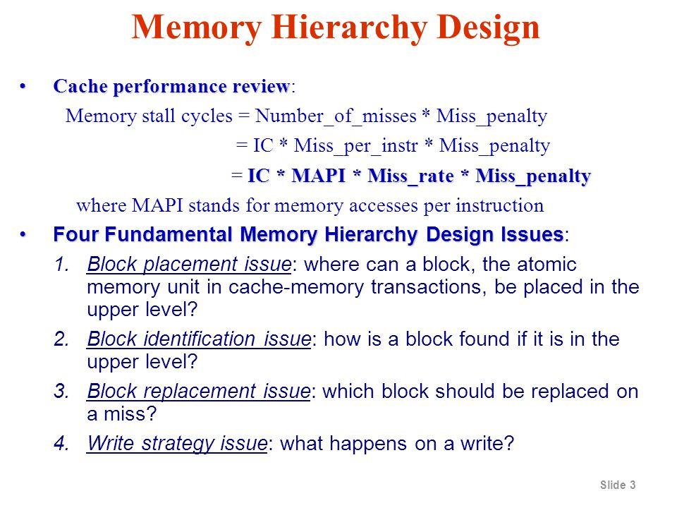 what happens when you block a number on iphone memory hierarchy design ppt 1743