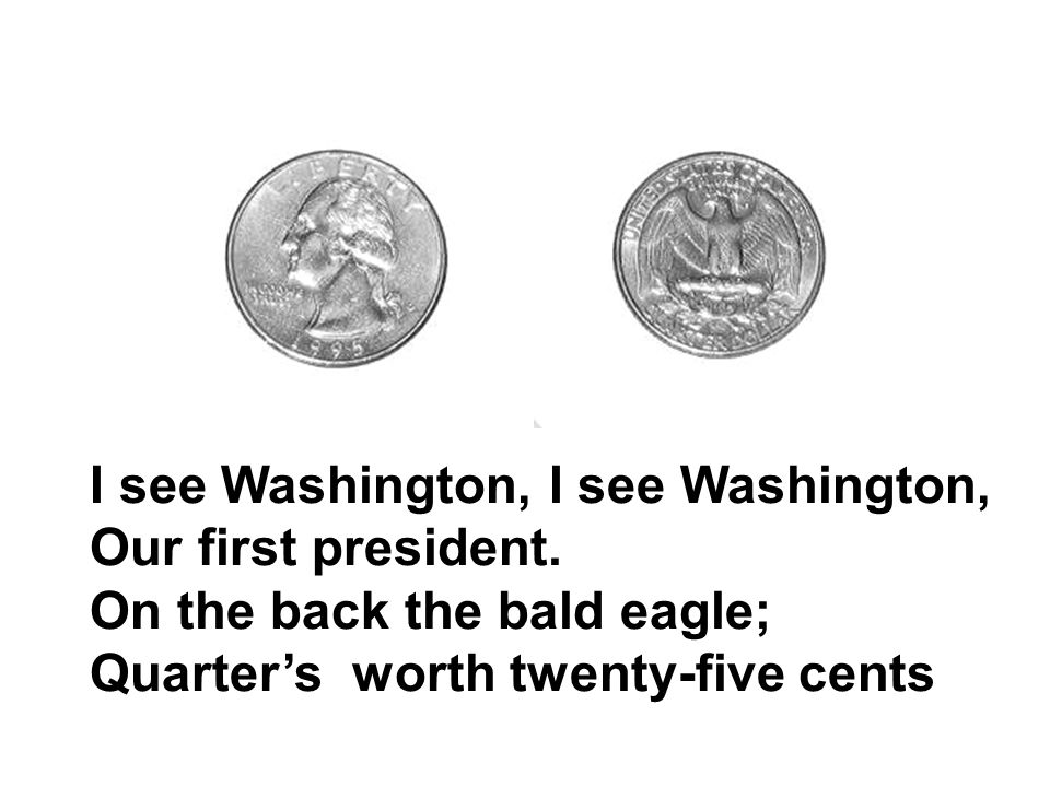 I see Washington, I see Washington,