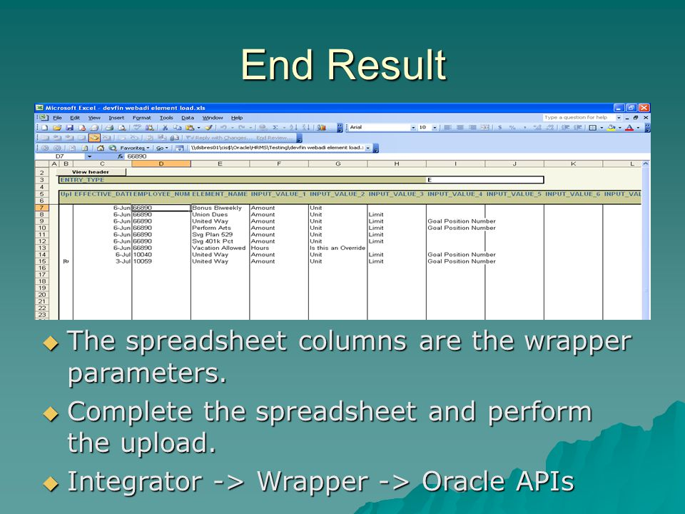 Web ADI Integrators Load Data with Excel  - ppt video online download