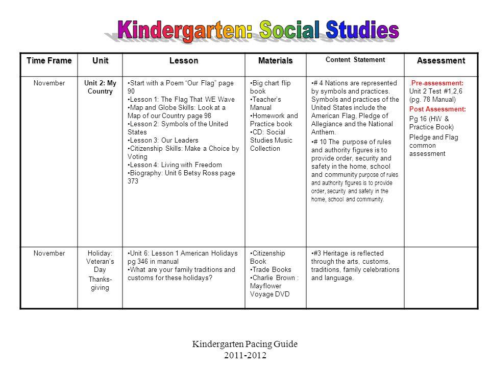 Kindergarten Social Studies Ppt Video Online Download