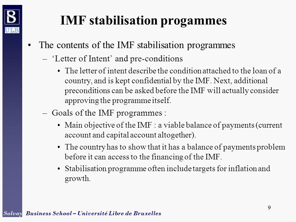 And the provision of finance ppt download 9 imf stabilisation progammes spiritdancerdesigns Gallery