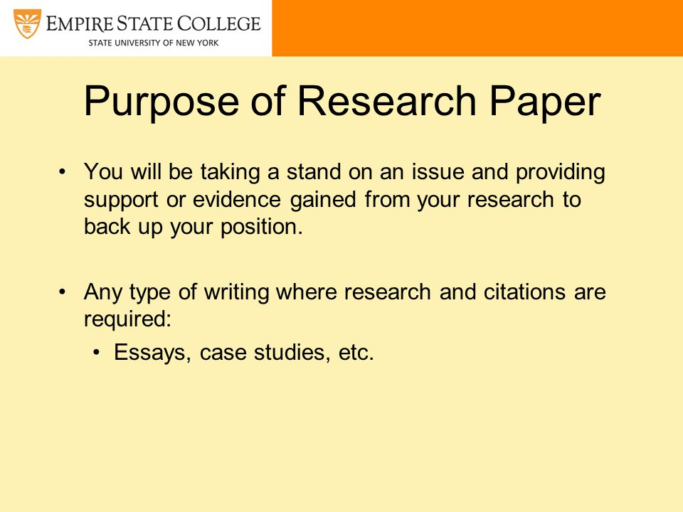 presentation of research paper