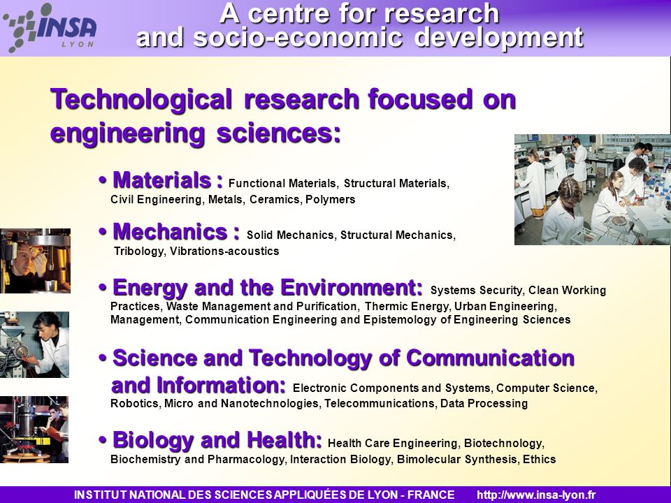 A centre for research and socio-economic development