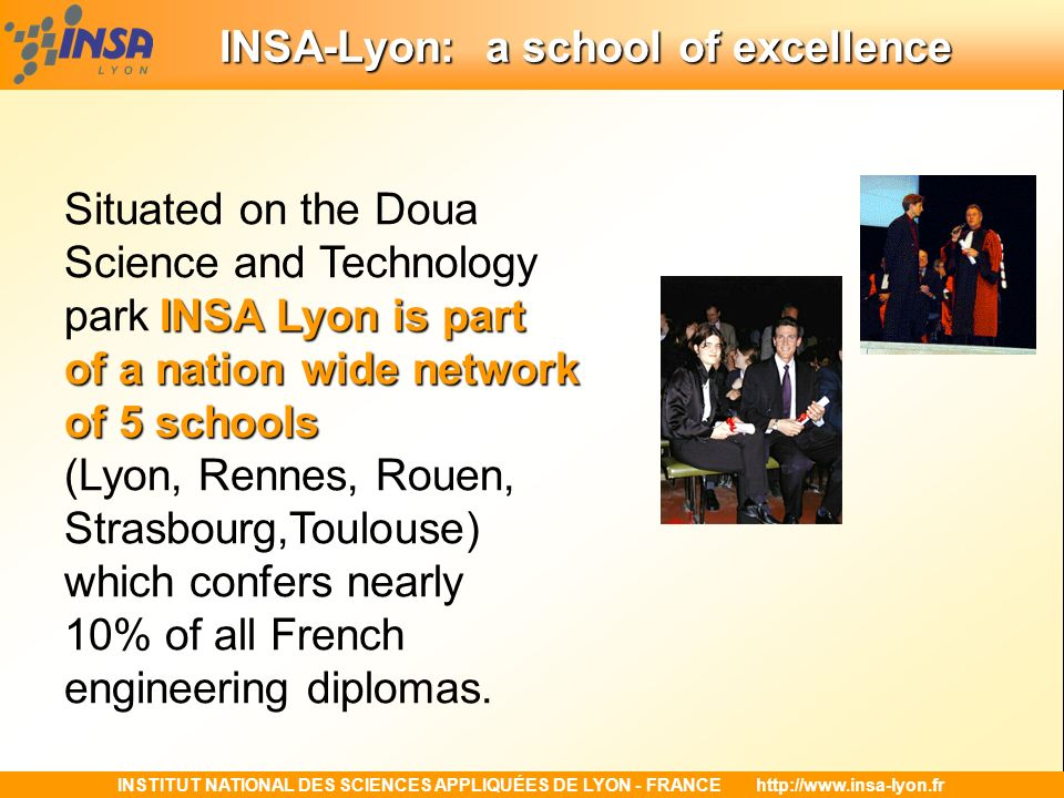 INSA-Lyon: a school of excellence
