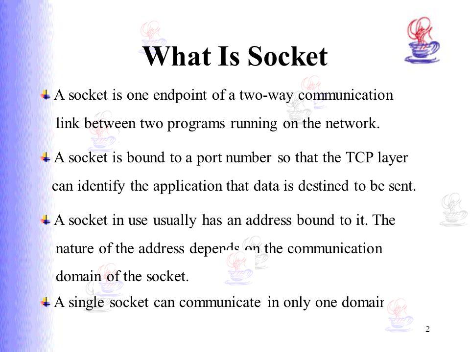 Java Socket Support Presentation by: Lijun Yuan Course