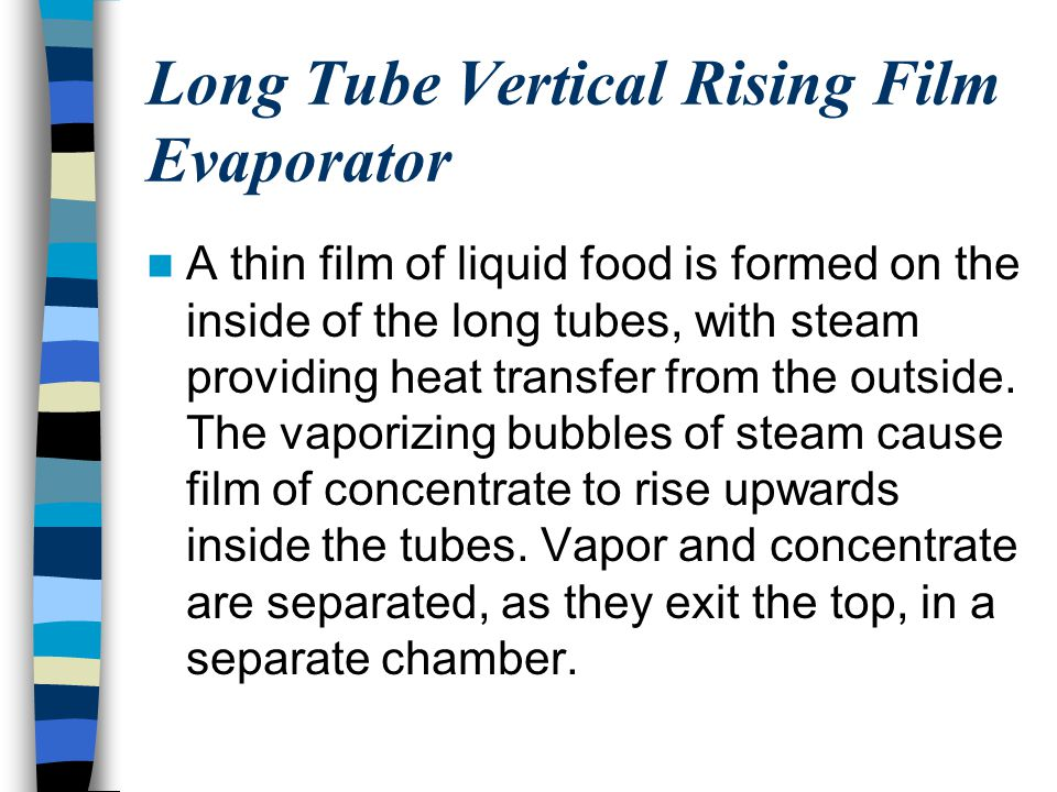 Long Tube Vertical Rising Film Evaporator