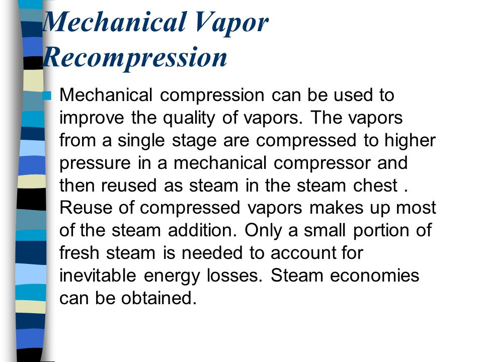 Mechanical Vapor Recompression
