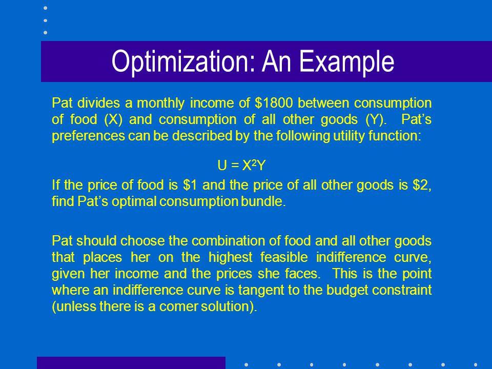 13 Optimization An Example