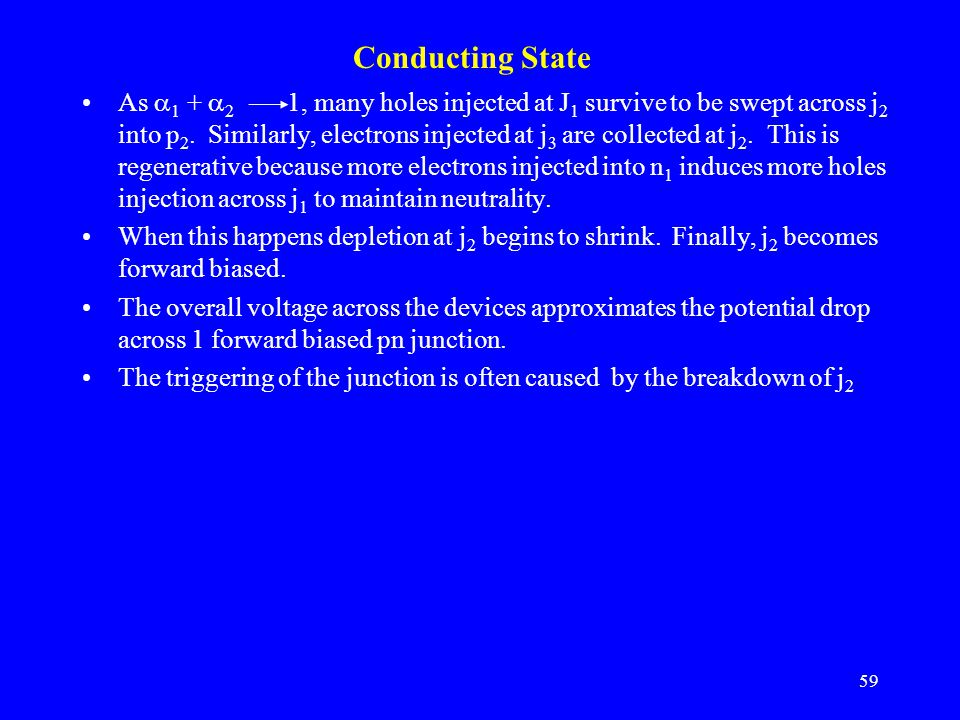 Conducting State