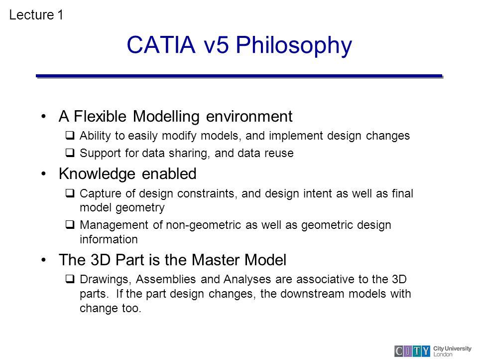 CATIA V5 Dr Ahmed Kovacevic City University London - ppt video