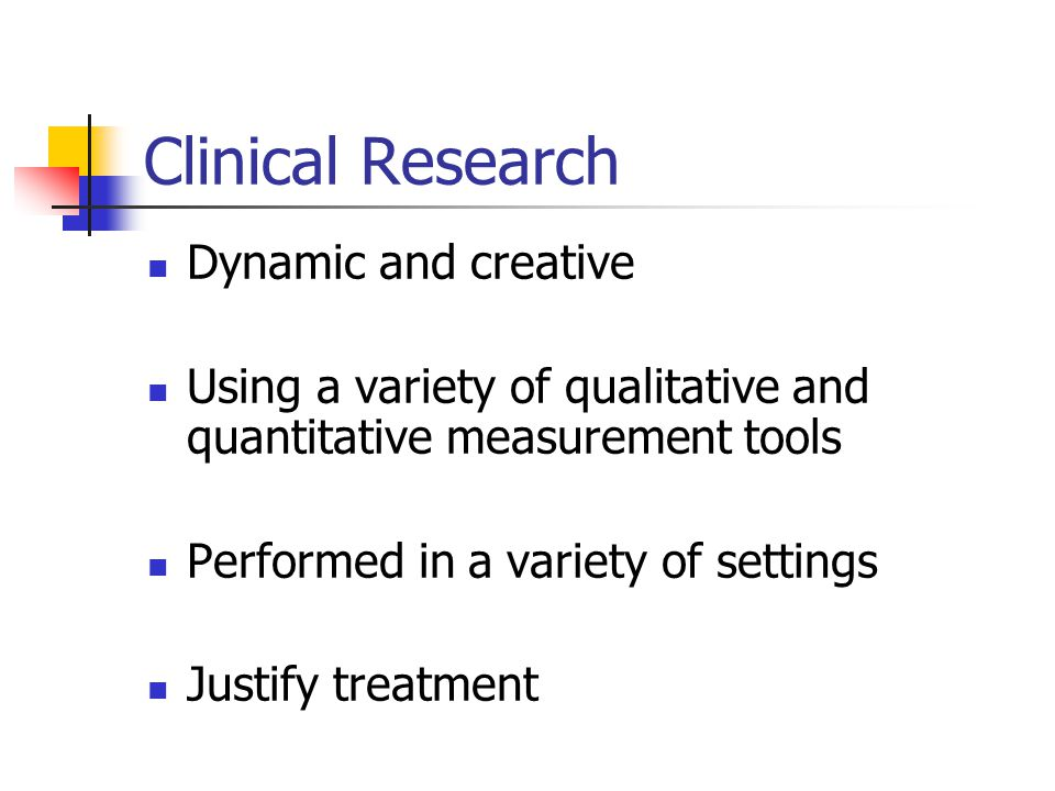 Clinical Research Dynamic and creative