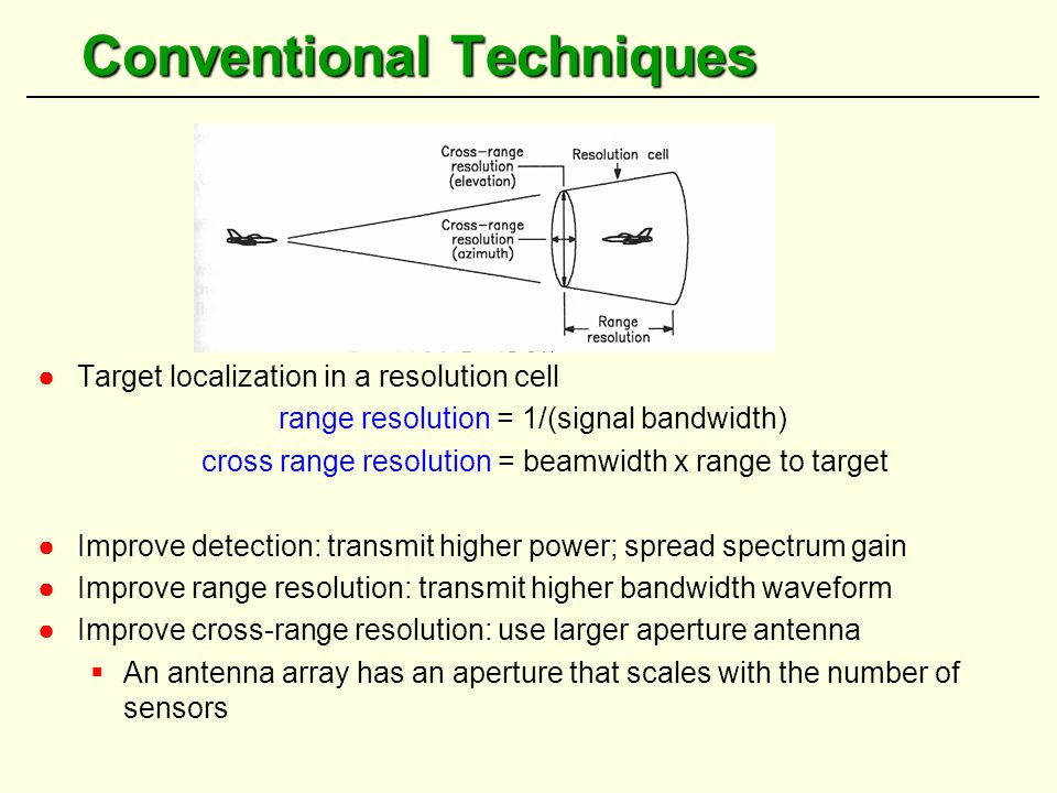 Coherent MIMO Radar: High Resolution Applications - ppt video online