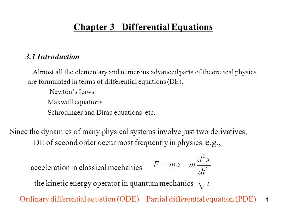 homogeneous differential equation examples pdf