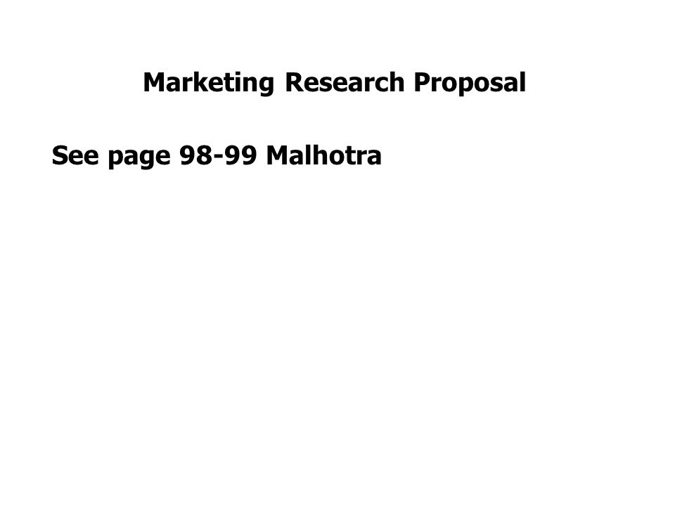 marketing research proposal on cats eye Research proposal: initiating research university of california, davis об этом курсе: market research is a growing and important field and that's where you come in as a market researcher this course will only scratch the surface and provide you a foundational understanding of this field.
