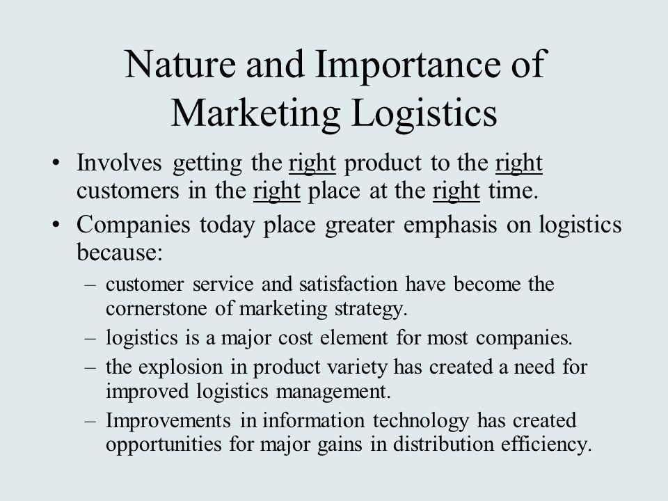 logistics and channel management pdf
