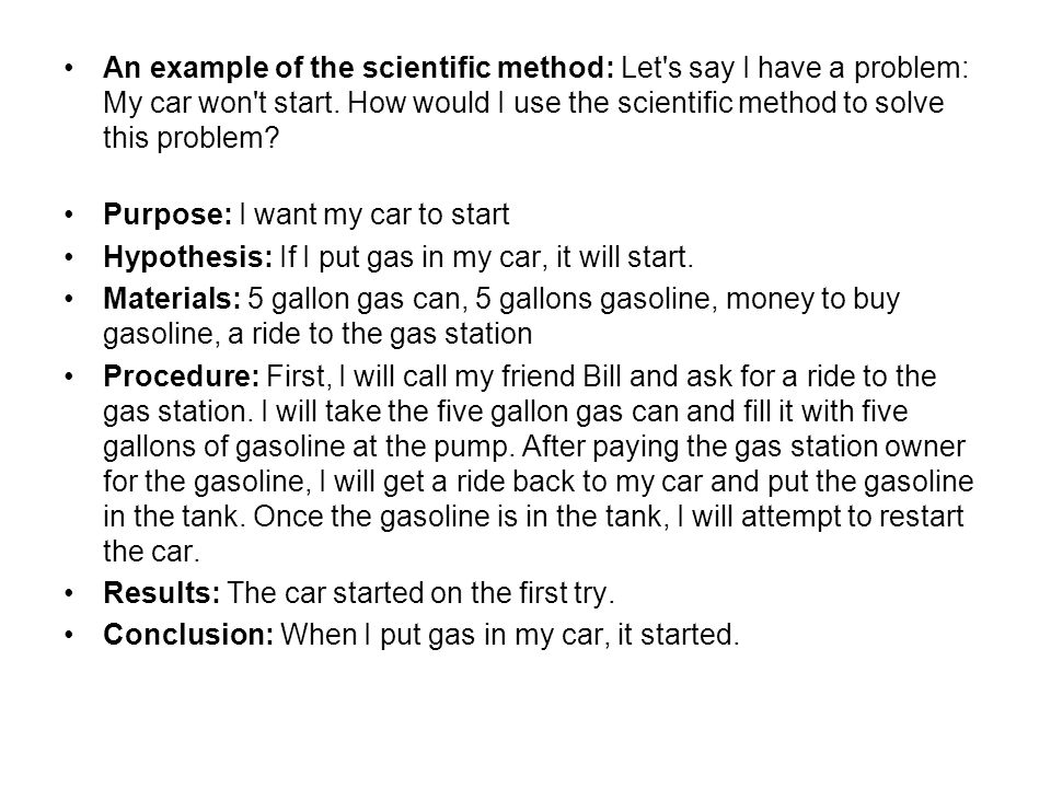 scientific problem solving essay The five (5) steps of scientific method are stating the problem, making observations, forming a hypothesis, testing the hypothesis/conducting experiment, and drawing a conclusion based on test results and report (trefil & hazen, 2011, p4.