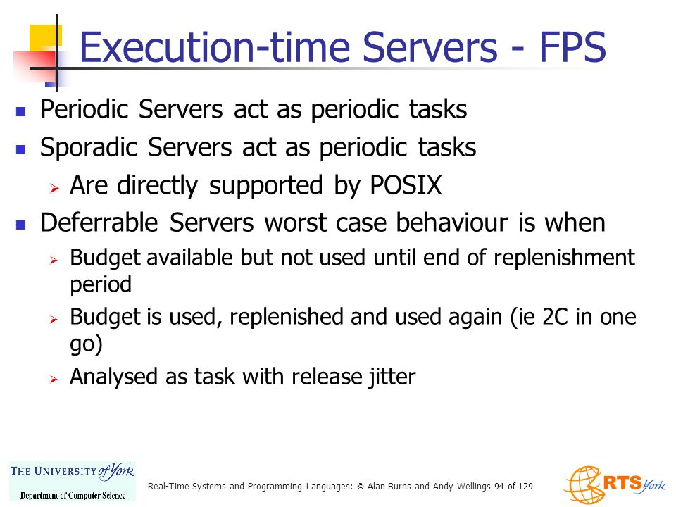 Execution-time Servers - FPS