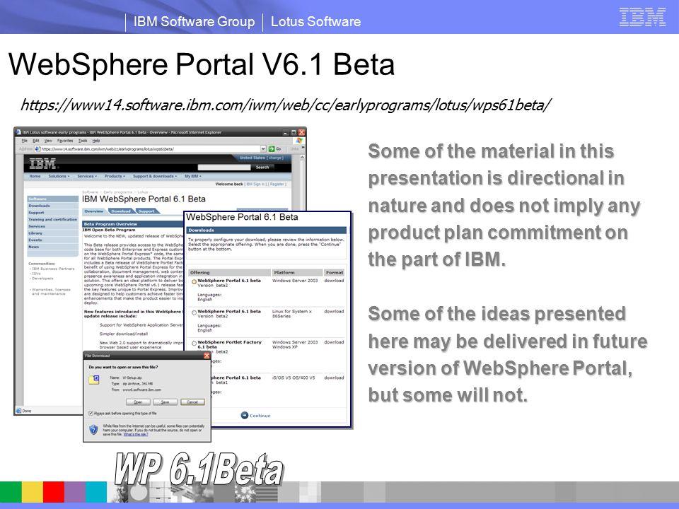 Portal integration programming model ibm mediacenter.