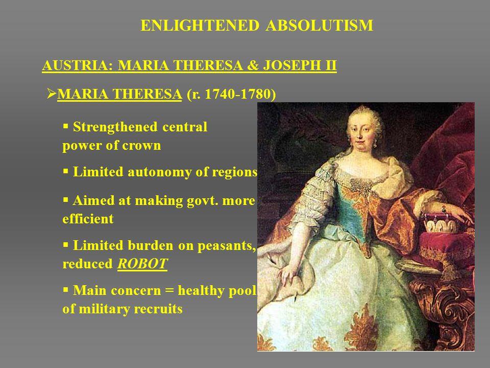 ENLIGHTENED ABSOLUTISM - ppt video online download